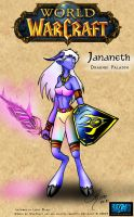WoW: Jananeth by arconius