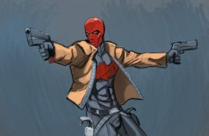 Redhood by CharlesPetersArt