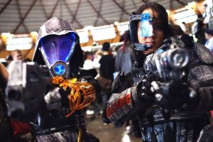 Bang, bang - ME3 Cosplays by Lily-pily