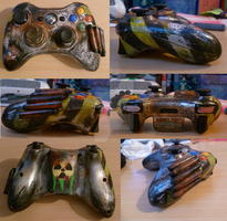 Fallout XBOX Controller by Soph-art-lover