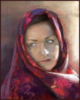 woman portret by Verehin