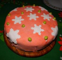 Christmas Cake 2014 - 2 by Wilhelmine