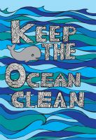 Keep The Ocean Clean by mythicdragon30