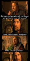 Boromir saves the day by truemouse
