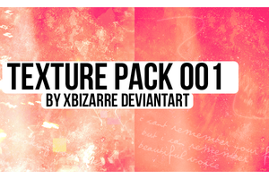 TEXTURE PACK 001 by xBizarre