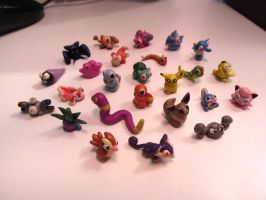 25 Clay Pokemon by koshplappit