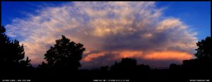 Thunderstorm Panorama 2 by sicmentale
