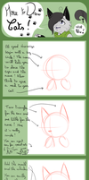 TUTORIAL - How to Draw Cats - The head by Niutellat