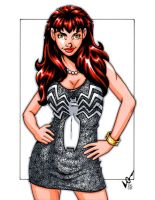 Mary Jane Venom Dress sketch by gb2k