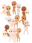 .:Base:. Why are there so many chibis by A-DreamCatcher