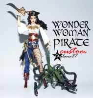 Pirate Wonder Woman Action Figure custom by Chalana87