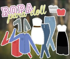 Ropa para doll 2 by BornInThe90