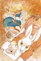 Down the Rabbit Hole by wanlingnic