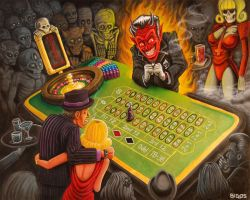 devils game by mr-biggs