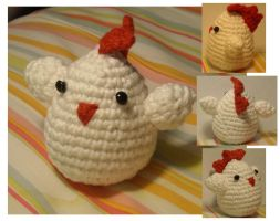 Rooster Zodiac Amigurumi by Speshul-Pencil