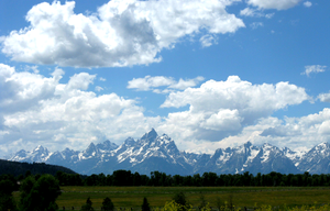 Grand Tetons by Chrysos-Argyros
