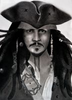 Jack Sparrow by Strawberry-2110