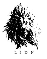 LION -monochrome- by UCHIDER