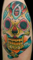 sugar skull by sethdavidson