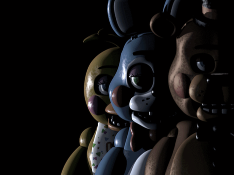 Five Night At Freddy 2 GIF by KnightAtNights