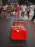 Suitcases by JonGoldie
