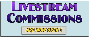 Livestream Commissions Are Available by lady-cybercat