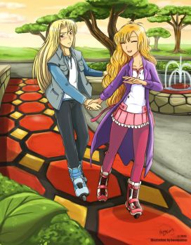 Date Me at the Park. by HeonGaiden