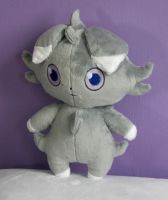 Espurr Plushie by FollyLolly