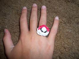 poke' ring by Ceraine