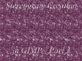 GIMP Stereogram Creation Pt 3 by fence-post