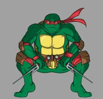 TMNT Raph by the-real-Payne