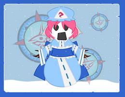 Snowpeople - Yuyuko by Dragon-FangX