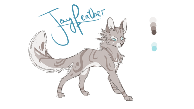 JayFeather by KittyWinder74