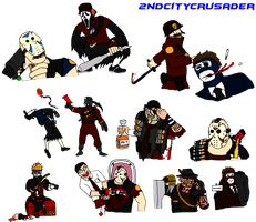 Team Terror 2: Meet the Slashers by 2ndCityCrusader