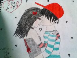 emo love by rokereight