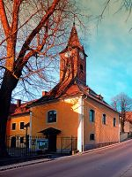 The village church of Waxenberg by patrickjobst