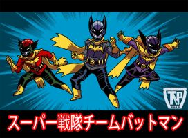 Supert Sentai Team Batoman.... by tnperkins