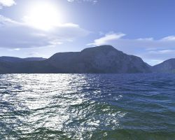 first terragen render by tbi