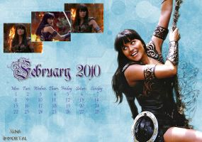 Calendar February 2010 by Aphrodian