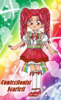 Confectionist Scarlett by LadyLaui