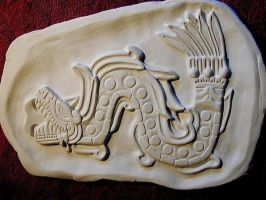 The Feathered Serpent - Quetzalcoatl by FireVerseCeramics
