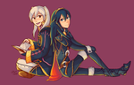 Collab: Robin and Lucina by Southrobin