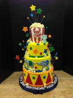 Circus Cake by Spudnuts