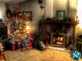 christmas day hdr by DCRIII