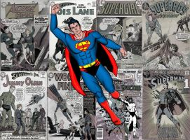 75 Years of Superman: An Age of Silver by kevmann
