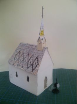 Chapel for 28mm Tabletop WIP by Ludwig1920