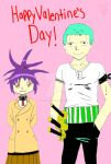 Valentine Day AT 3 Zoro and Senna by BackOffEdsMine