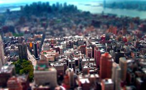 NYC tilt shift by PositiveVibes