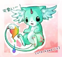 cute-kawaiix3 Mascot Contest Entry by Shattered-Earth