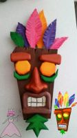 Aku Aku Finished by FairyBreadPrincess